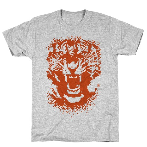 Pixel Tiger T-Shirt