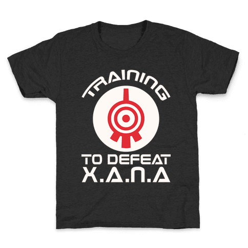 Training To Defeat XANA Kids T-Shirt