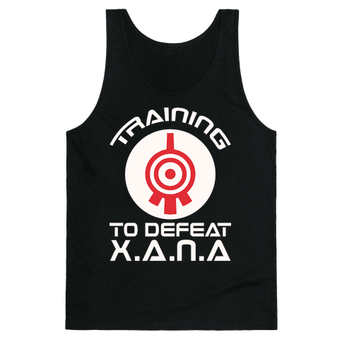Training To Defeat XANA Tank Top