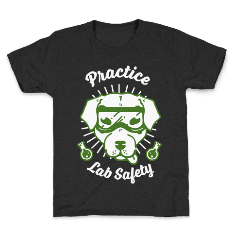 Practice Lab Safety Kids T-Shirt