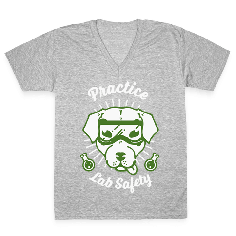 Practice Lab Safety V-Neck Tee Shirt