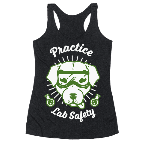 Practice Lab Safety Racerback Tank Top