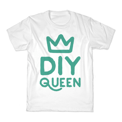 DIY Queen Kids T-Shirt