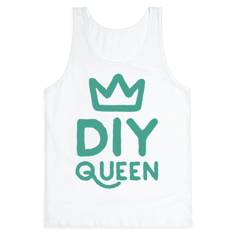 DIY Queen Tank Top