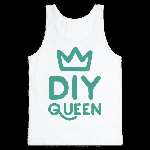 DIY Queen Tank Top