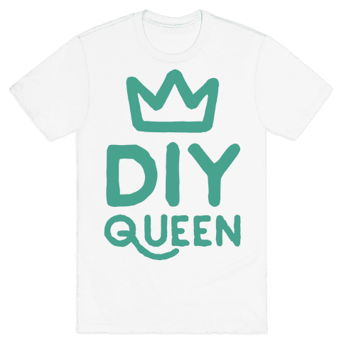 DIY Queen Mens T-Shirt