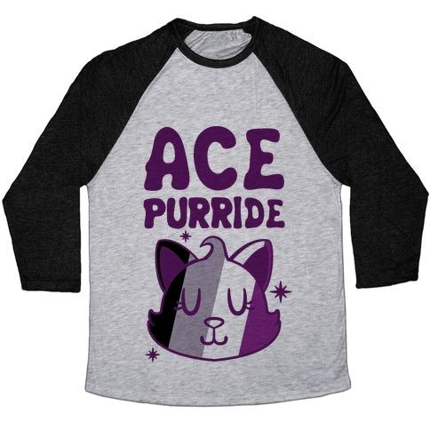 Ace Purride Baseball Tee