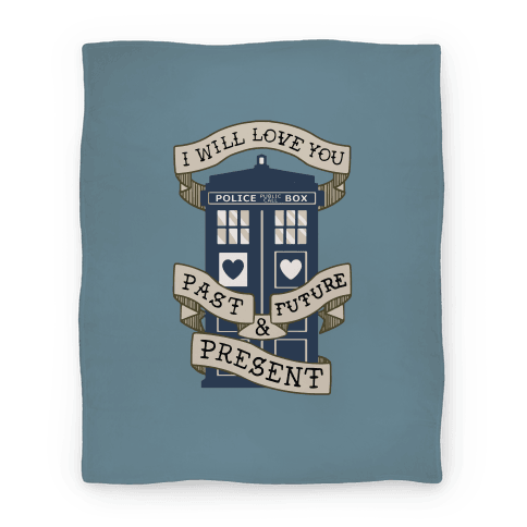 Doctor Who Love Blanket Blanket