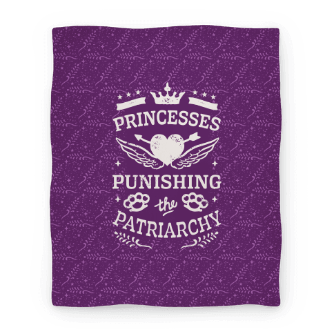 Princesses Punishing The Patriarchy Blanket