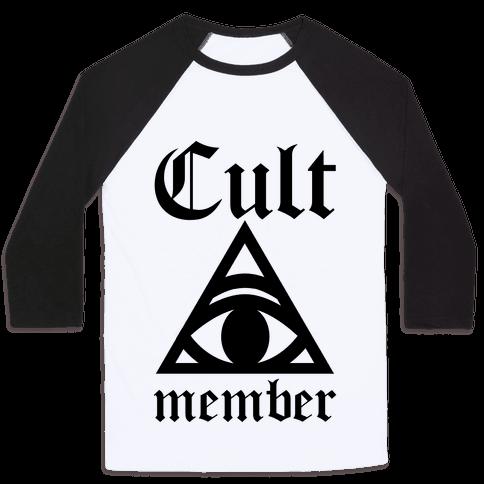 Cult Member Baseball Tee