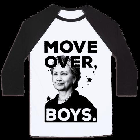 Move Over Boys ( HRC ) Baseball Tee