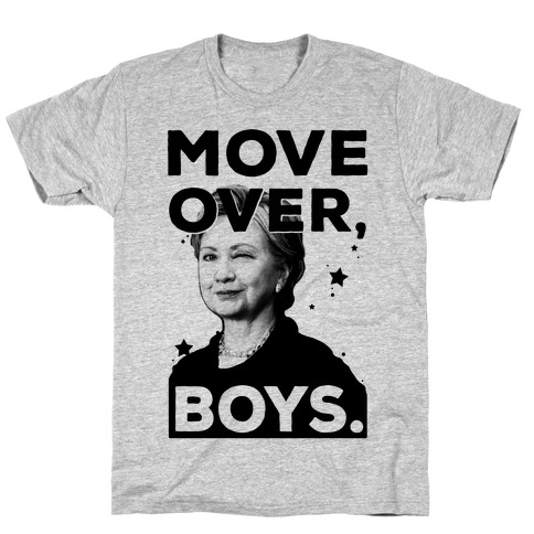 Move Over Boys ( HRC ) Mens T-Shirt