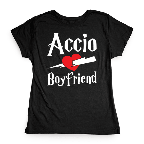 Accio Boyfriend Womens T-Shirt