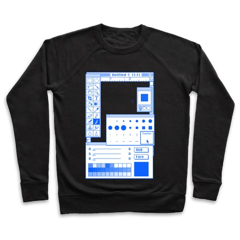 Photoshop Pixel Tools Pullover