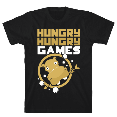 Hungry Hungry Games Mens T-Shirt