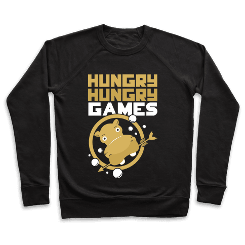 Hungry Hungry Games Pullover