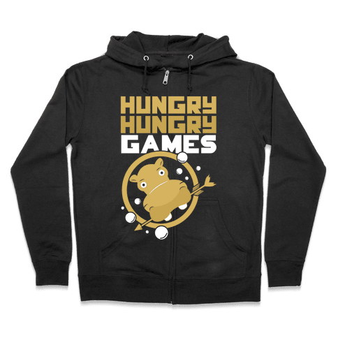 Hungry Hungry Games Zip Hoodie
