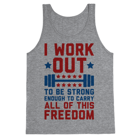 Carry All Of This Freedom Tank Top