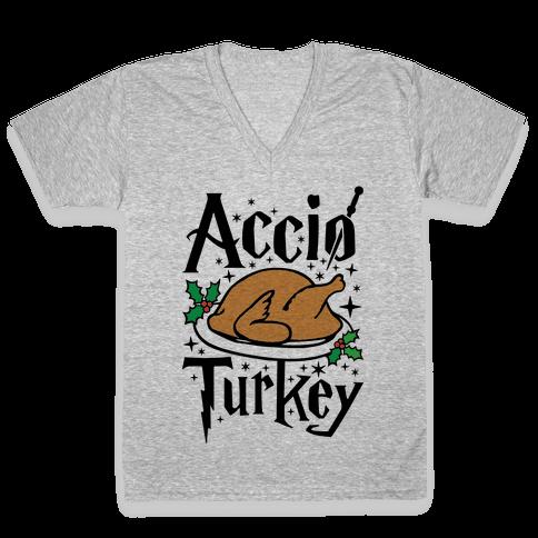 Accio Turkey V-Neck Tee Shirt