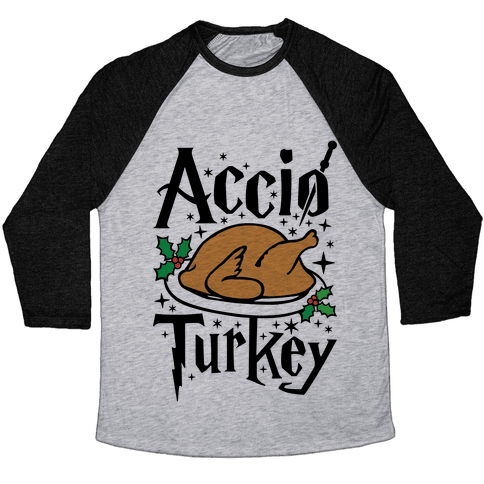 Accio Turkey Baseball Tee