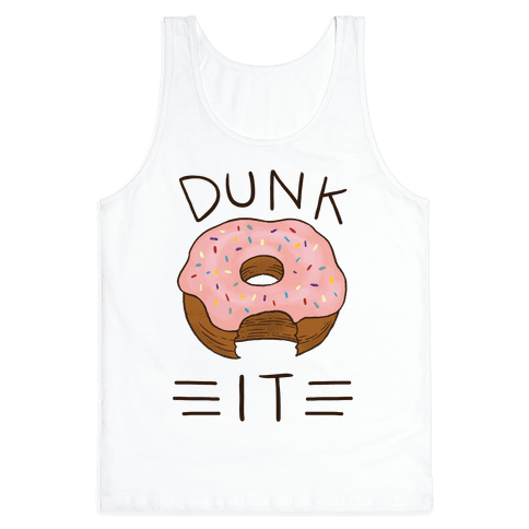 Dunk It (Donut) Tank Top
