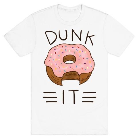 Dunk It (Donut) Mens T-Shirt
