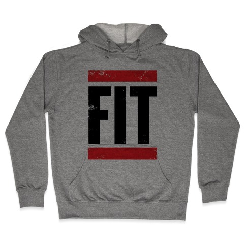 Fit Hooded Sweatshirt
