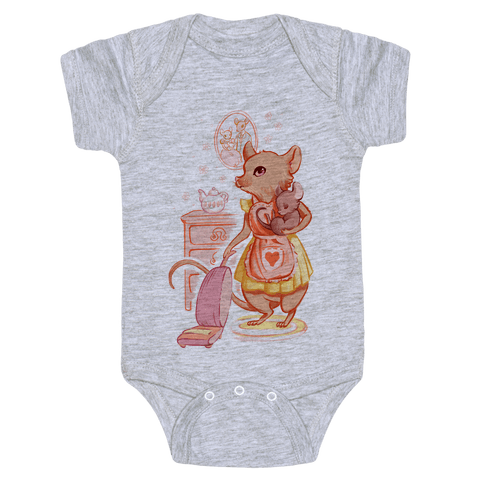 Mousewife Baby Onesy