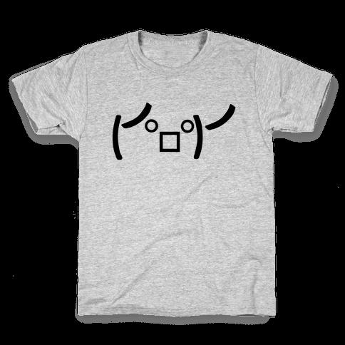 Rage Emoji Kids T-Shirt
