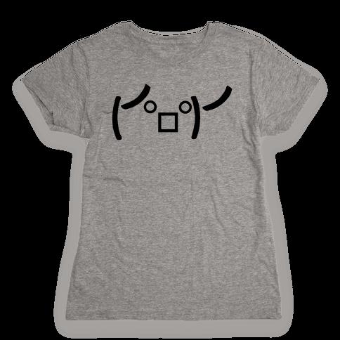 Rage Emoji Womens T-Shirt
