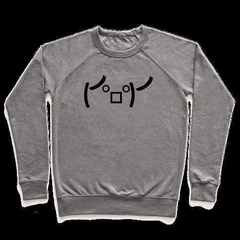 Rage Emoji Pullover