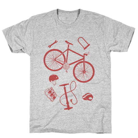 fixed gear cycling tools Mens T-Shirt