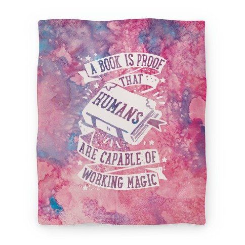 A Book Is Proof That Humans Are Capable Of Working Magic Blanket