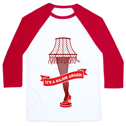 It's A Major Award Baseball Tee