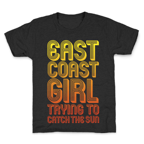 East Coast Girl Kids T-Shirt
