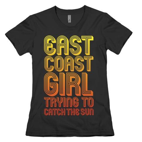 East Coast Girl Womens T-Shirt