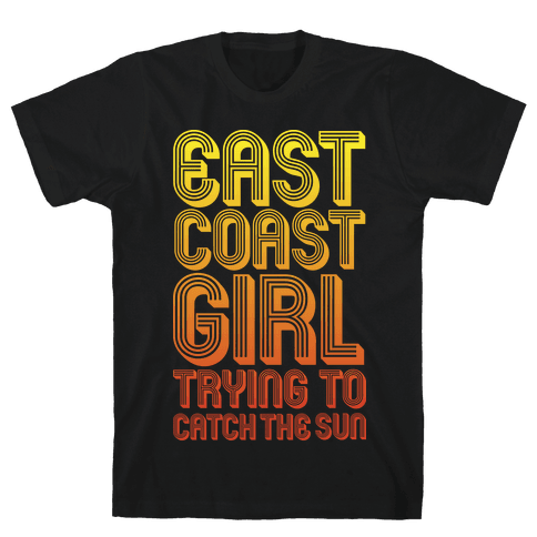 East Coast Girl Mens T-Shirt