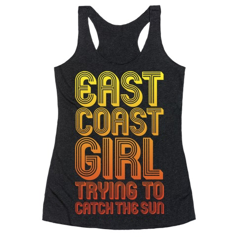 East Coast Girl Racerback Tank Top