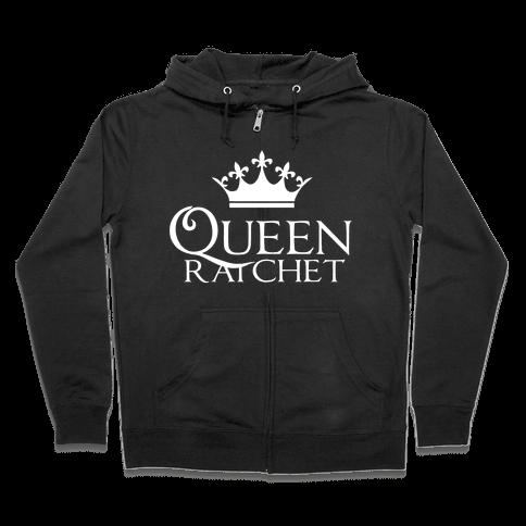 Queen Ratchet Zip Hoodie