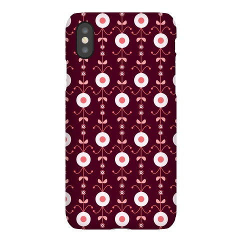 Retro Flower Pattern Case Phone Case