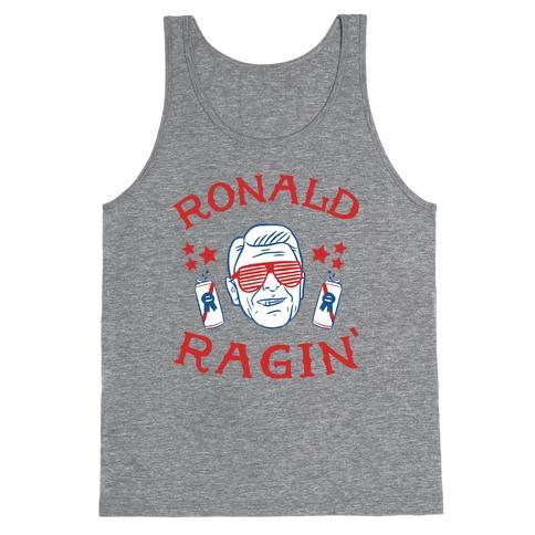 Ragin' Reagan Tank Top