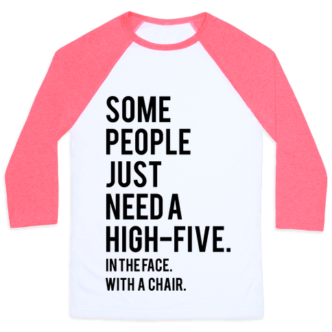 High Five Baseball Tee