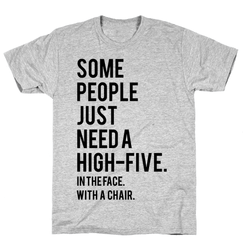 High Five Mens T-Shirt
