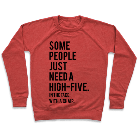 High Five Pullover