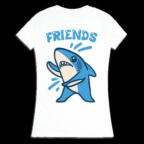 Best Friend Sharks (Part 2) Womens T-Shirt