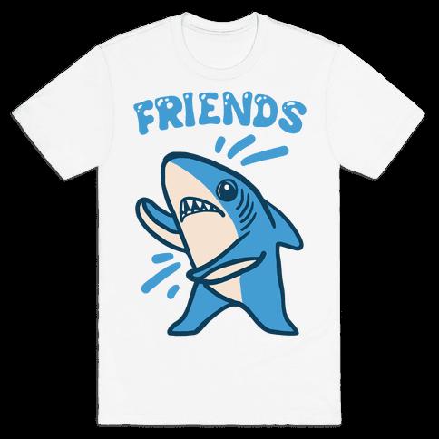 Best Friend Sharks (Part 2) Mens T-Shirt