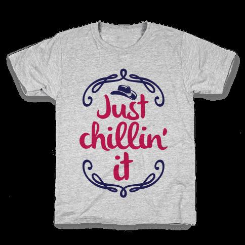 Just Chillin' It Kids T-Shirt