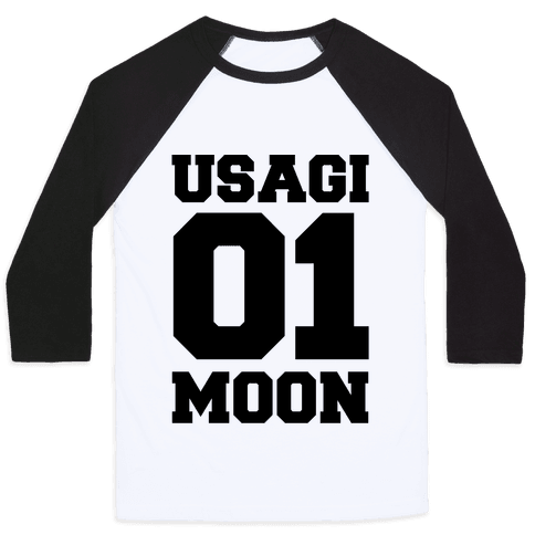 Usagi: 01 Moon Baseball Tee