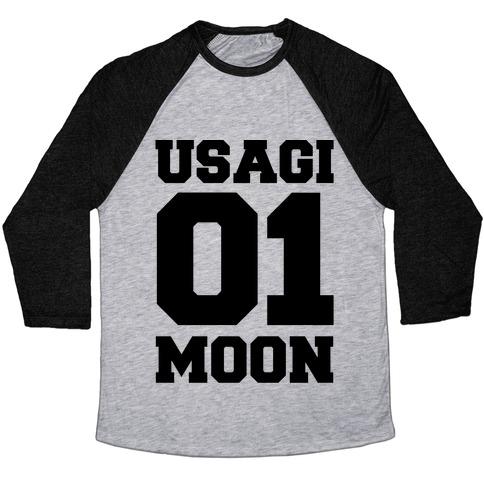 Usagi: 01 Moon Baseball Tee