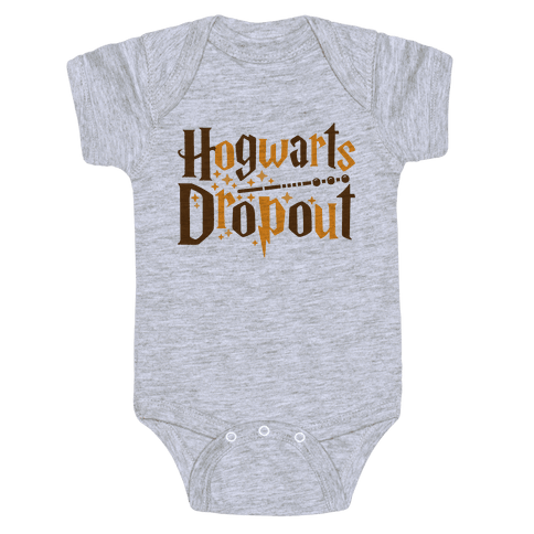 Hogwarts Dropout Baby Onesy